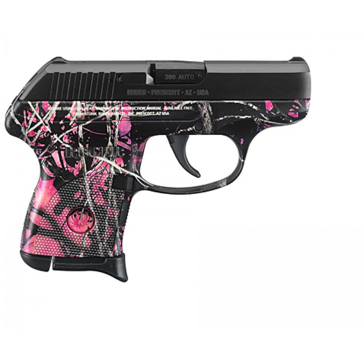 RUGER LCP-MG 380 PISTOL MUDDY GIRL CAMO Red Ryder Armory