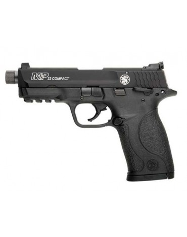 S&W M&P 22 Compact 22LR with Threaded Barrel