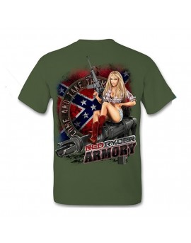 Red Ryder Armory T-Shirt  - Back