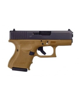 Glock G26 G4 9MM Flat Dark Earth & Black