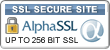 Alpha SSL Site Seal